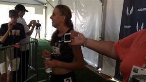 Mary Cain Bounces Back In 1,500 Qualifying - YouTube