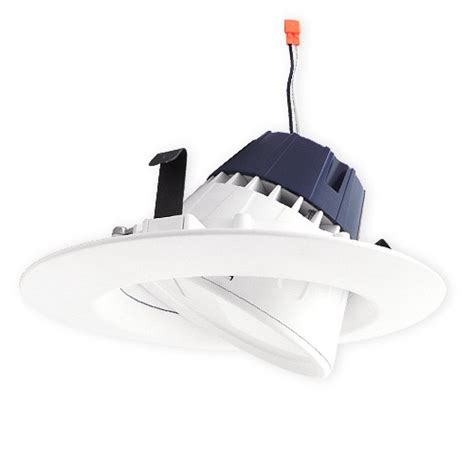 6 gimbal led recessed lighting sylvania 73466 ultra rt6 6 quot dimmable led recessed lighting