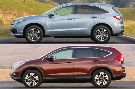 Crv Vs Rdx 2016 by Rdx Vs Cr V 5 Reasons To Splurge On The Acura And Honda