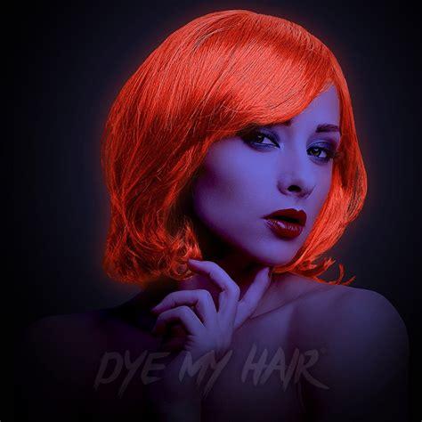 Hair Colours by Stargazer Uv Semi Permanent Hair Dye Uv Reactive Hair