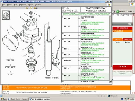 citroen service box parts  repair