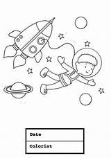 Coloring Suit Astronaut Space Boy Young Bathing Drawing Hazmat Boys Colornimbus Printable Getcolorings Getdrawings sketch template