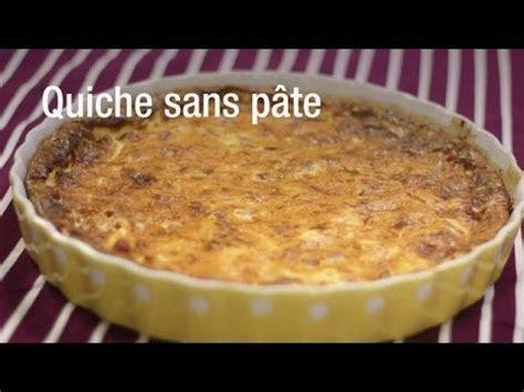 recette de la quiche sans p 226 te