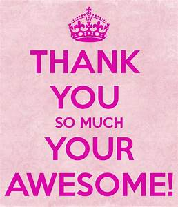 You Are Awesome Thank You Clipart - Clipart Kid | V ...
