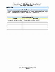 40 Free Instruction Manual Templates  Operation    User Manual