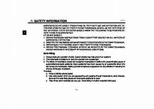 2002 Yamaha Fjr1300 N Owners Manual