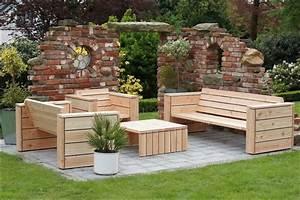Bauanleitung Lounge Sofa : gartenlounge selber bauen bauanleitung ~ Michelbontemps.com Haus und Dekorationen