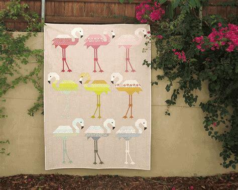 elizabeth hartman sewing pattern florence flamingo quilt