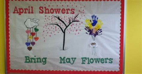 april showers bring may flowers bulletin board ideas april showers bring may flowers my bulletin boards