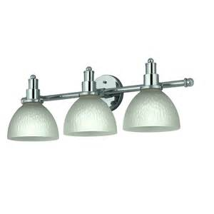 shop portfolio 3 light chrome bathroom vanity light at
