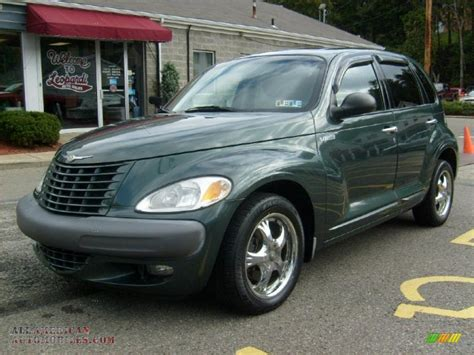 2001 Chrysler Pt Cruiser Limited In Shale Green Metallic