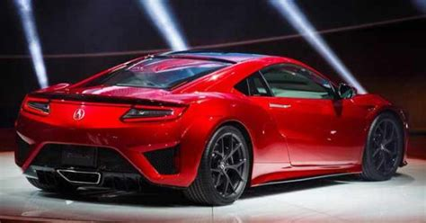 2017 acura nsx review price specs msrp hp