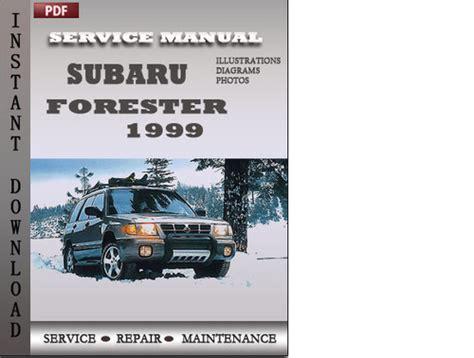 service manuals schematics 1999 subaru forester user handbook subaru forester 1999 factory service repair manual download downl