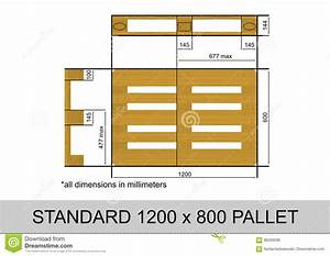 Dimension Palette Europe : euro pallet stock vector illustration of platform ~ Dallasstarsshop.com Idées de Décoration