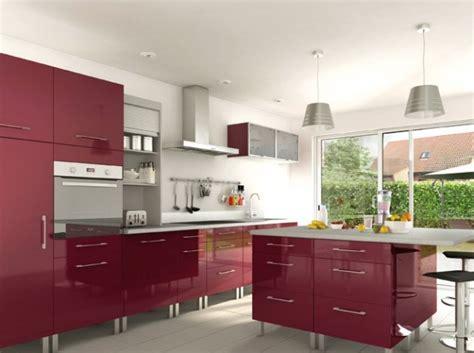 cuisine moderne bordeaux davaus cuisine moderne couleur bordeau avec des
