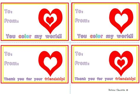 valentines day 9 39 s day cards students and school