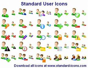 Standard User Icons full Windows 7 screenshot - Windows 7 ...