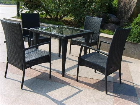 fresh best black all weather wicker outdoor furnitur 20707