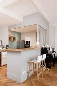 decouvrez nos 84 jolies propositions pour cuisine avec bar With idee deco cuisine avec cuisine scandinave moderne
