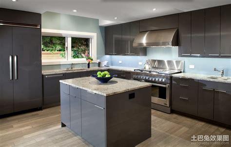 kitchen island plans 现代整体橱柜装修效果图 土巴兔装修效果图