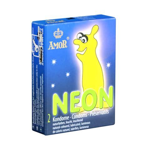 Amor Neon  Kleinpackung, leuchtende Kondome, Sparpreis