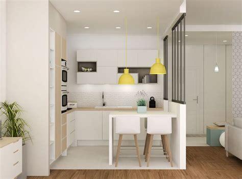d馗o cuisine ouverte amnager une cuisine ouverte beautiful agrandir une cuisine quipe qui structure luespace with amnager une petitecuisine ouverte