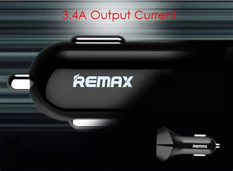 Remax Rcc-208 5v 3.4a Dual Usb Car Charger
