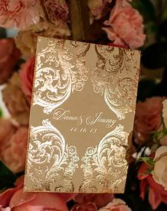 ornate invitations ceci style With wedding invitations nyc midtown