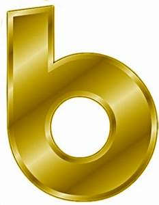 free gold letter b clipart free clipart graphics With gold letter b