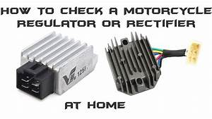 How To Check A Motorcycle Regulator  Rectifier
