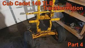 Cub Cadet 149 Tlb Transformation Part 4