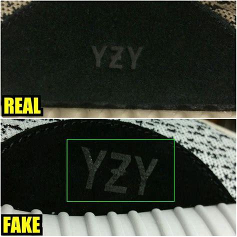 comparaison entre les vraies  les fausses yeezy boost
