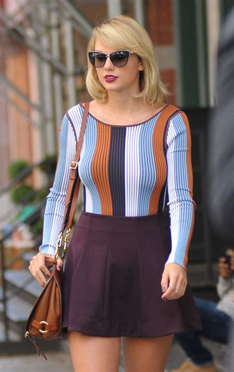 Taylor Swift Inspiring Style – Leaving Her Apartment in ...