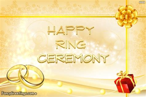 happy ring ceremony wishes