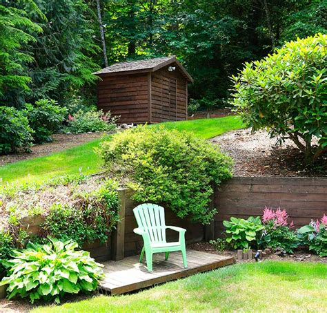 Landscaping Ideas For Small Sloping Backyards by 21 Landscaping Ideas For Slopes Slight Moderate And Steep