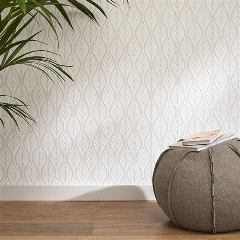 parquet chambre leroy merlin papier peint intissé feuille deco gris leroy merlin