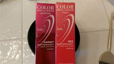 ion color brilliance brights for hair ion color brilliance gemstones garnet vs
