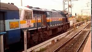 JET ENGINE INSIDE A TRAIN ??? WDP 4D, INDIAN RAILWAYS ...
