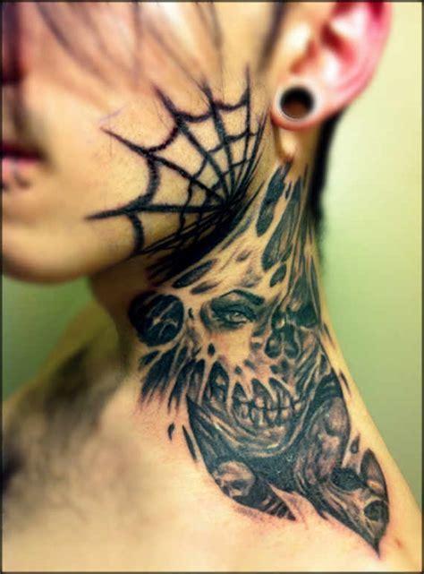 90 Excellent Neck Tattoos Ideas & Designs