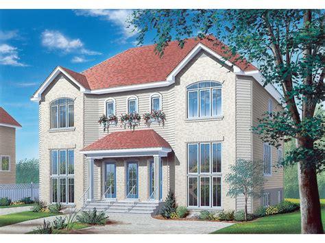 Multi Family House : Hennessey Multi-family Triplex Plan D-| House