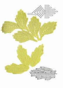 1000  Images About Crochet Leaves  U0026 Vines On Pinterest