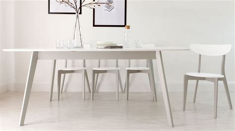 grey kitchen table and chairs aver grey and white extendable kitchen table danetti
