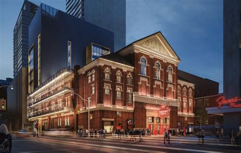 New Bilateral Funding Announced For Massey Hall Revitalization