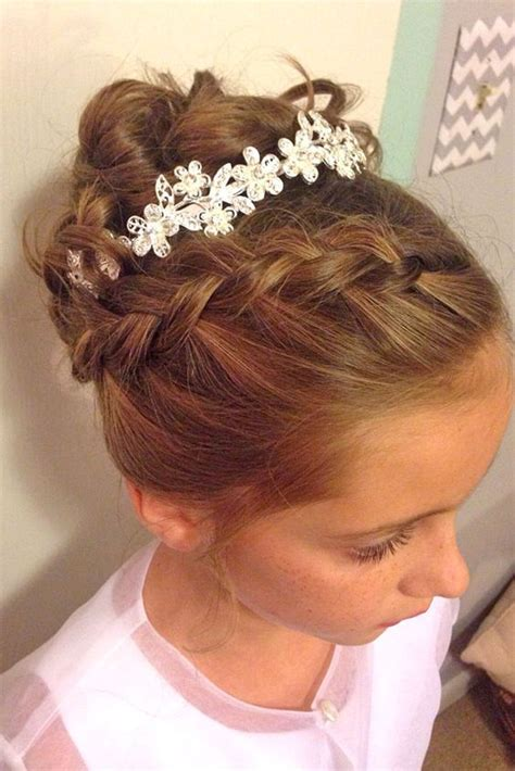 Flower Updo Hairstyles by 33 Flower Hairstyles 2017 Update Haircuts