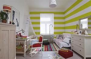 Pruhy v dětském pokoji