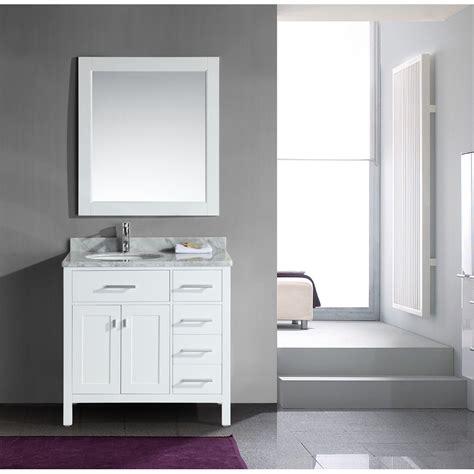 design element london  single vanity  drawers