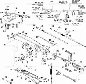 Evinrude Outboard Rigging Parts  U0026 Controls By Year 2013