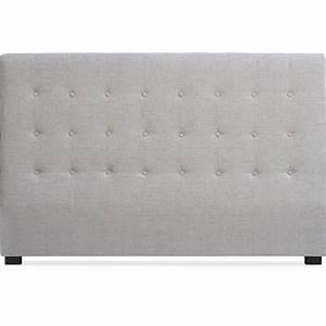 Tete De Lit Tissu : t te de lit capitonn e tissu beige 180 luxa ~ Premium-room.com Idées de Décoration