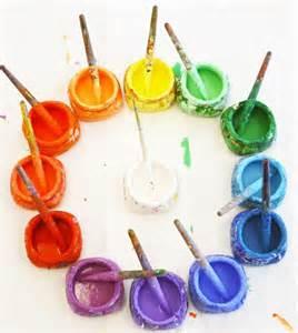 Rainbow Paint Colors