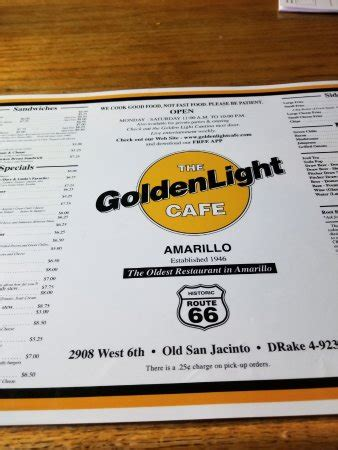 golden light amarillo golden light cafe cantina amarillo restaurant 45388